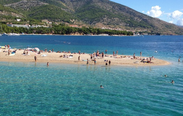Croatia – Beach in the Adriatic Sea